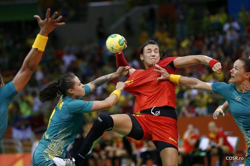 OLIMPIADĂ. România pierde în fața Norvegiei la handbal feminin și este eliminată de la RIO 2016