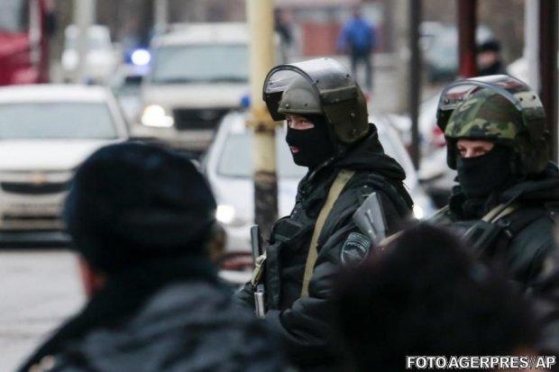 Operațiune antiteroristă în Rusia. Explozii şi focuri de armă