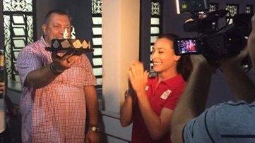 Cătălina Ponor, sărbătorită la Rio! Gimnasta a împlinit 29 de ani