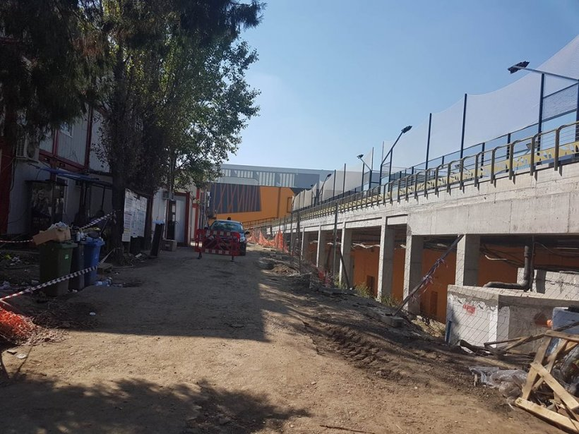 Cum arată noul mall din Titan cu mai puțin de două săptămâni înainte de deschidere