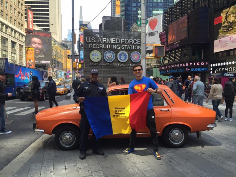 Eroul Zilei: Mihai Jitianu, românul care duce tricolorul în toate țările lumii