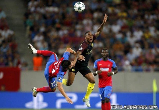 Steaua părăsește Liga Campionilor după 0-1 cu Manchester City în retur