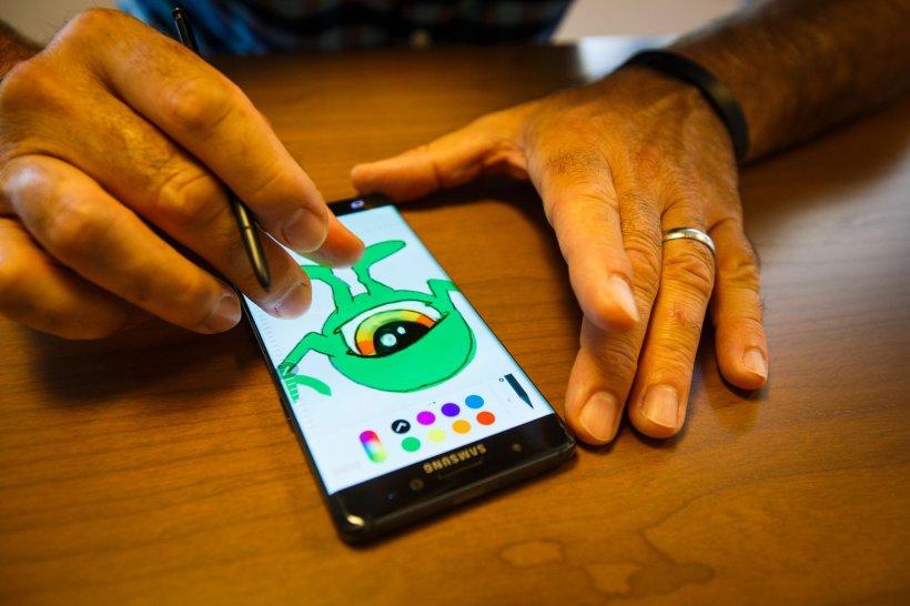 Cât costă să înlocuiești ecranul spart al unui Samsung Galaxy Note 7