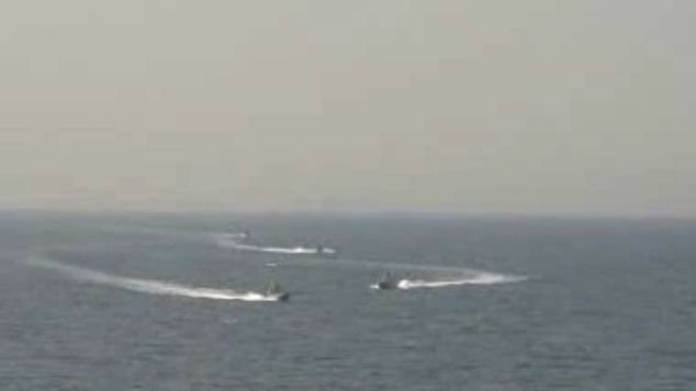 Incident în Golful Persic. Un distrugător american, hărțuit de nave iraniene