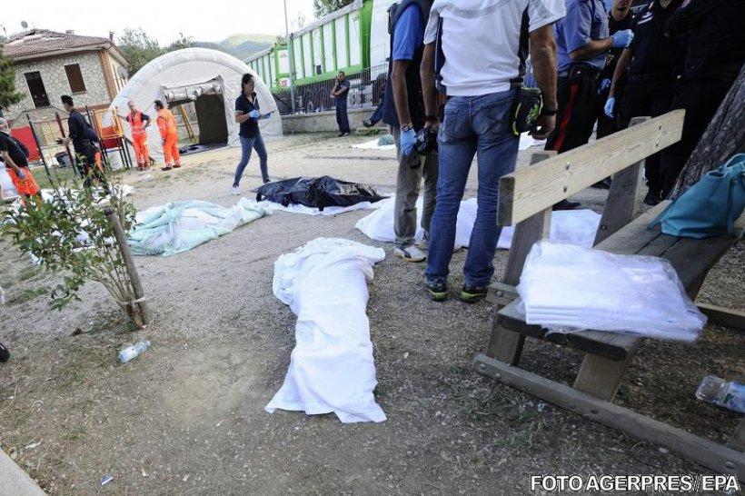 Încă un român mort, în urma cutremurului din Italia. Alte 17 persoane sunt dispărute