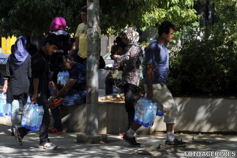 Zeci de imigranți sirieni, prinși la granița României
