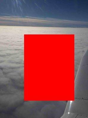 """Se afla la 10.000 de metri în aer, când a văzut asta. A scos imediat telefonul și a început să facă poze. """"Cât de tare este!"""""""