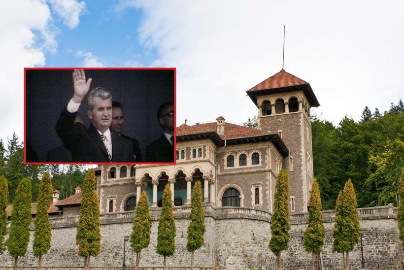 """Ce a făcut Nicolae Ceauşescu în beciurile Castelului Cantacuzino. """"Maşinile negre ale Securităţii intrau pe aceste porţi"""""""