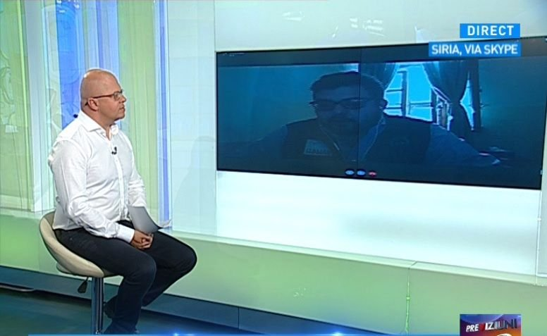 Eroul Zilei: Anton Barbu, românul care întinde o mână copiilor din Siria