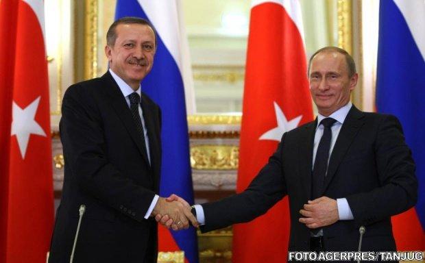 Întâlnire de grad zero între președintele Rusiei și omologul turc. Ce au decis cei doi lideri