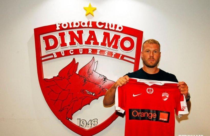 Superlovitură dată de Dinamo. Echipa lui Andone a dus un atacant care a jucat la EURO 2016