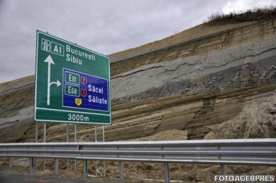 CNADNR: Circulaţia pe lotul 3 al autostrăzii Orăştie-Sibiu se va redeschide la sfârşitul lunii septembrie