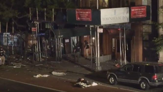 """Explozie la New York. Prima reacţie a primarului: """"Actul este unul intenţionat"""""""