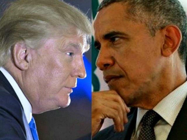 Diferența dintre Barack Obama și Donald Trump, în două imagini