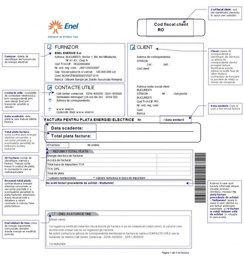 Plata Facturii Enel La Poștă Va Costa 2 5 Lei