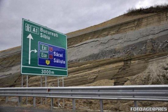 CNDNR decalează termenul de finalizare a lucrărilor la autostrada Orăștie - Sibiu din cauza ploilor
