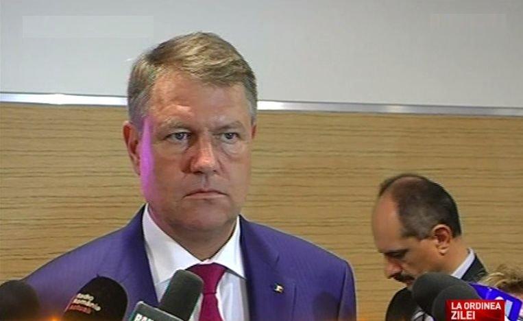 Klaus Iohannis: Cine a plagiat, pleacă! Indiferent cum se numește. Plagiatul este o formă de hoție