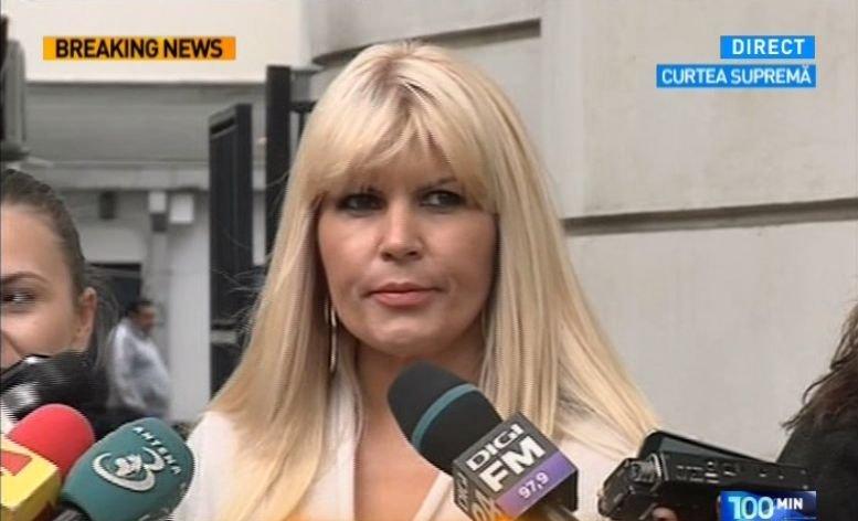 """Elena Udrea: """"Am decis să candidez ca independent. Nu m-am consultat cu Traian Băsescu, drumurile noastre se despart aici"""""""
