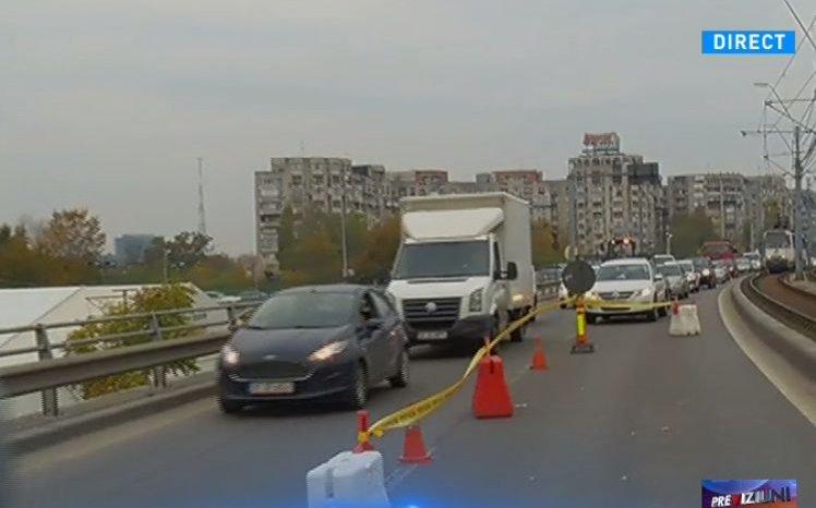 Reacția Primăriei Capitalei, după incidentul de pe Podul Grant de vineri dimineață
