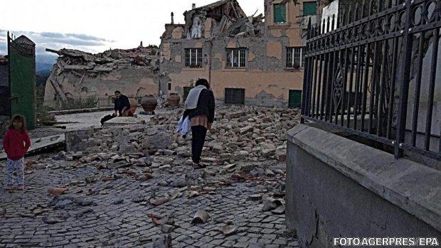 Coșmarul din Italia continuă. Zeci de noi cutremure s-au produs sâmbătă