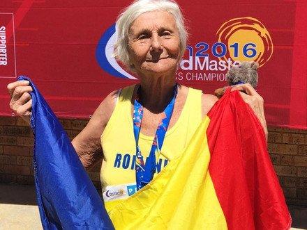 O Româncă de 90 de ani a câştigat medalia de aur la 5.000 de metri la o competiţie din Australia