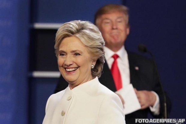 REZULTATE ALEGERI SUA. Hillary Clinton l-a sunat pe Donald Trump. Ce i-a spus
