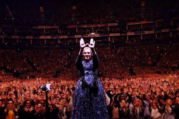"""Adele, """"atacată"""" în timpul unui concert de un oaspete neașteptat (VIDEO)"""