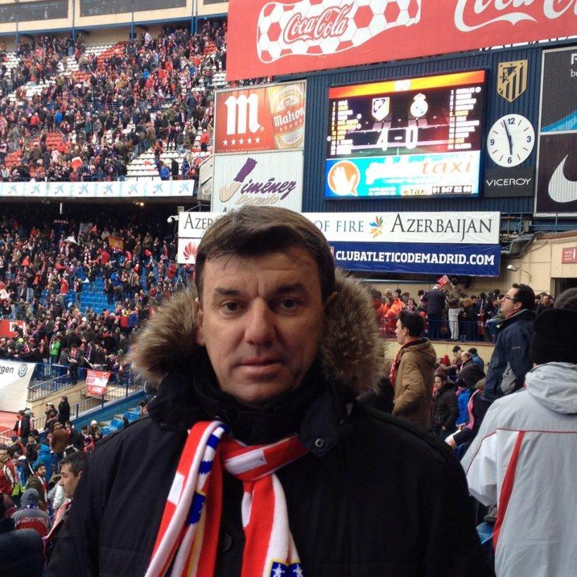 Mesajul transmis de clubul Atletico Madrid, după dispariția lui Daniel Prodan