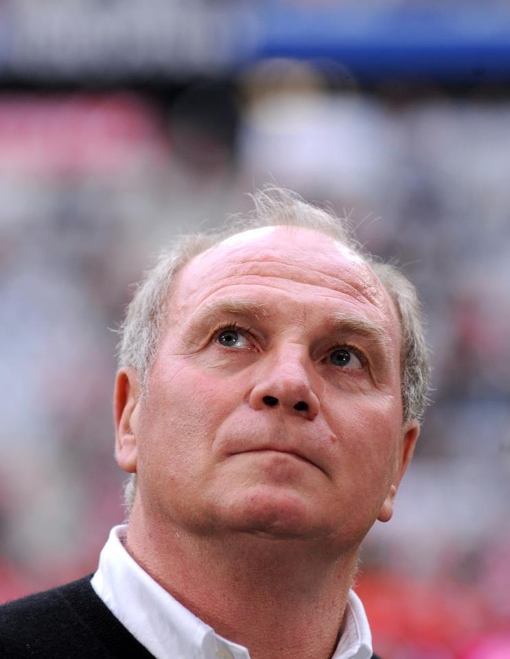 """Uli Hoeness, noul președinte """"penal"""" al clubului Bayern Munchen"""