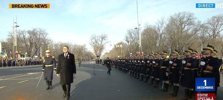 Ziua Națională. Președintele Klaus Iohannis a ajuns la Arcul de Triumf