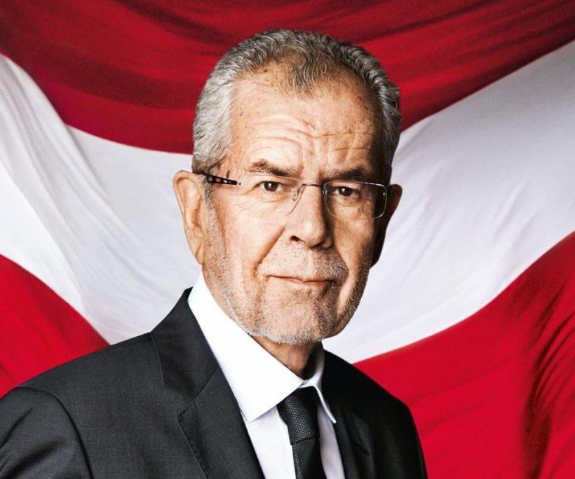 Independentul Alexander Van der Bellen a câştigat alegerile prezidenţiale în Austria