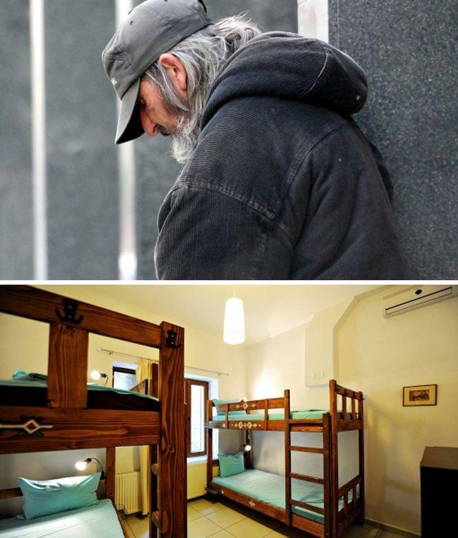 Adăpost temporar de noapte deschis în București