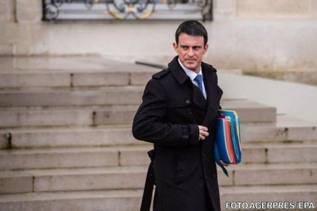 Premierul francez Manuel Valls demisionează și se înscrie în cursa pentru alegerile prezidențiale