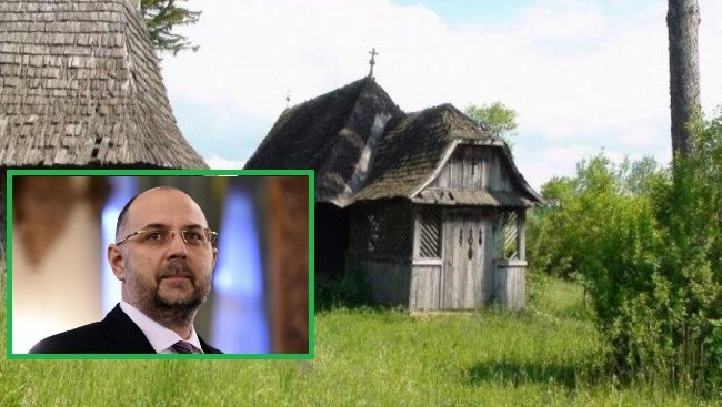 Bisericile ortodoxe de lemn din Ardeal dispar în tăcere, biserica din satul în care s-a născut Kelemen Hunor, renovată cu aproape 2 milioane de lei