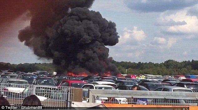 Cauza prăbușirii avionului cu familia lui Osama bin Laden la bord, în 2015. Ce s-a întâmplat, de fapt, pe aeroportul din Marea Britanie