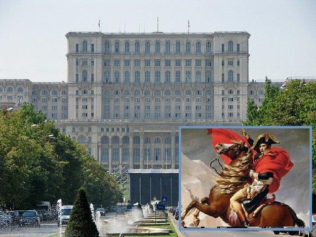 Care este legătura dintre Casa Poporului, Napoleon și invazia maidanezilor
