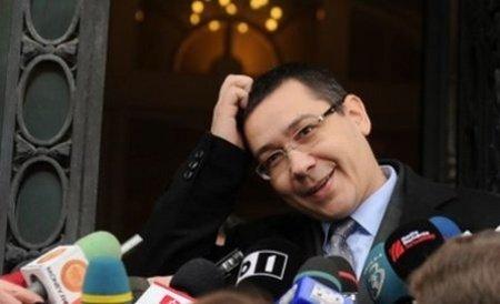"Victor Ponta: ""Am primit un mesaj, să merg la PNL, să fiu președinte de partid"""