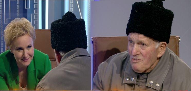 """Invitat surpriză în emisiunea """"La ordinea zilei"""". Mesajul unui bătrân din Seaca de Gorj pentru Klaus Iohannis"""