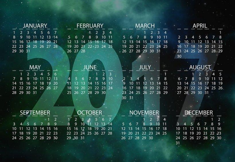 ZILE LIBERE 2017. Câte sărbători legale pică în cursul săptămânii anul viitor