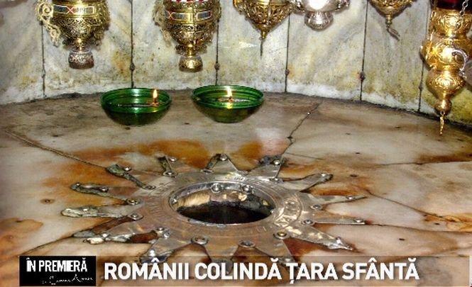 În premieră. Românii colindă Țara sfântă