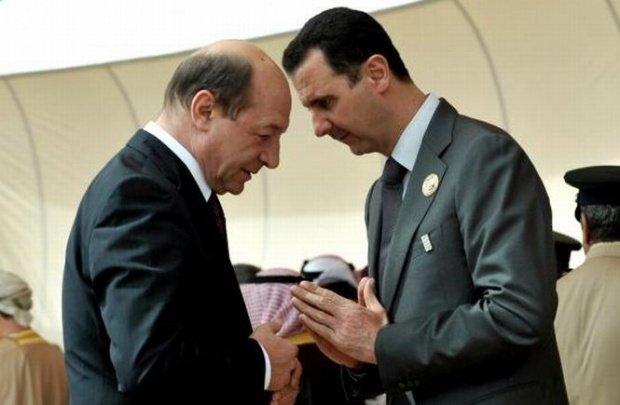 Legătura neștiută dintre Băsescu și Assad. Dezvăluiri din documente secrete