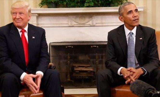 Donald Trump îl acuză pe Barack Obama că încearcă să blocheze instalarea noii administrații