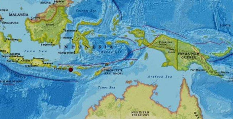Cutremur puternic în Indonezia. Autoritățile nu au emis alertă de tsunami  482