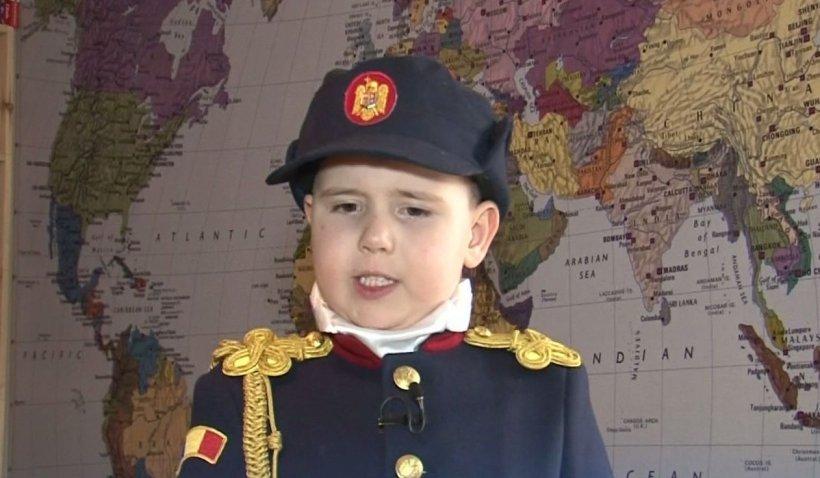 Eroul Zilei: Lecție de patriotism la patru ani