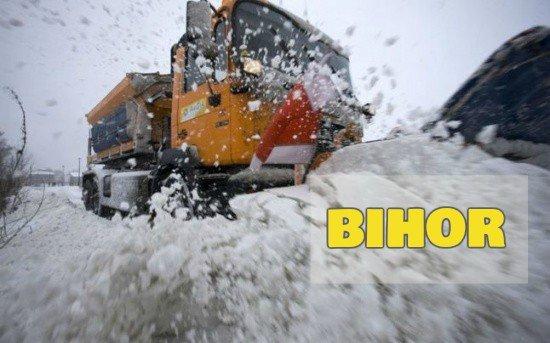 Bihor: Toate drumurile din judeţ sunt circulabile în condiţii de iarnă