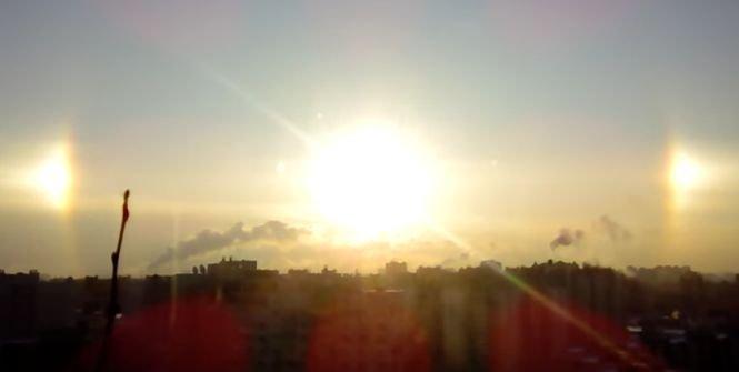 """Fenomen spectaculos în Sankt Petersburg. Cum arată """"curcubeul iernii"""" - VIDEO"""