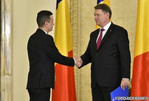 Întâlnirea între Klaus Iohannis, Sorin Grindeanu și Viorel Ștefan s-a încheiat