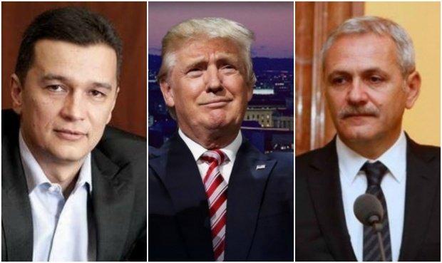 Liviu Dragnea și Sorin Grindeanu vor merge la ceremonia de învestire a lui Donald Trump