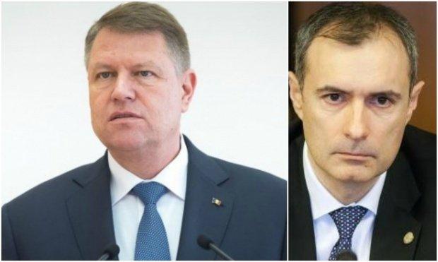 Klaus Iohannis face primele declarații după scandalul de la SRI