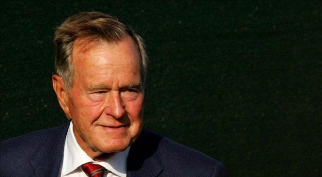 Fostul preşedinte american George Bush Sr, internat de urgență
